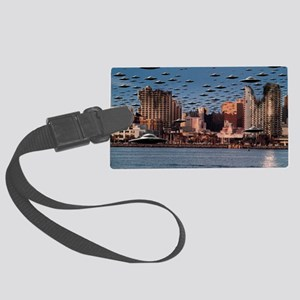 The End Of The War Large Luggage Tag