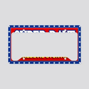 super dave License Plate Holder