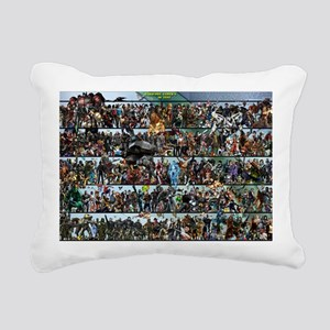 Poster - Completed - 30  Rectangular Canvas Pillow