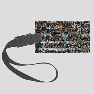 Poster - Completed - 30 X 20 Large Luggage Tag