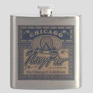 NAVY-PIER-BOX Flask