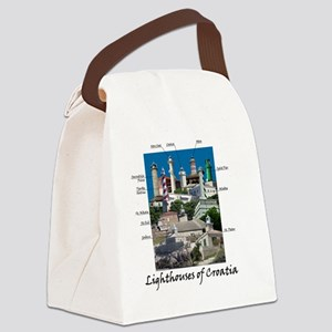 Croatia 4.5x5.75 Canvas Lunch Bag