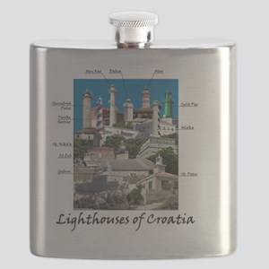 Croatia 4.5x5.75 Flask