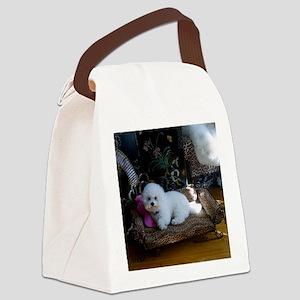 MAGGIE MOUSEPAD copy Canvas Lunch Bag
