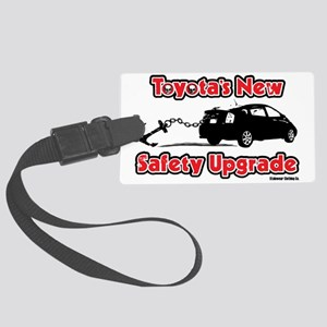 toyotas new safety recall option Large Luggage Tag