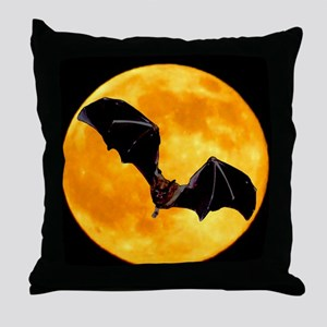 MOONBAT101MP Throw Pillow