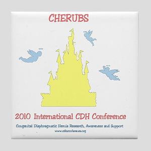 2-2010conferencemultibw Tile Coaster