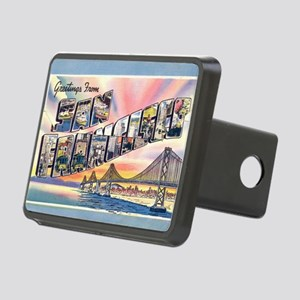 GreetingsSF Rectangular Hitch Cover