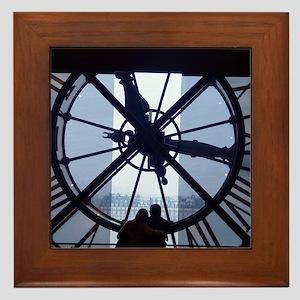 paris_007 Framed Tile