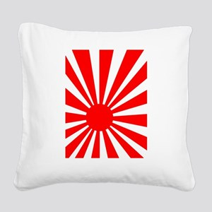 Karate Square Canvas Pillow