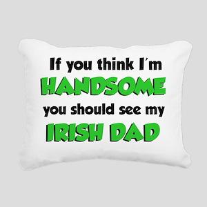 My Irish Dad Rectangular Canvas Pillow