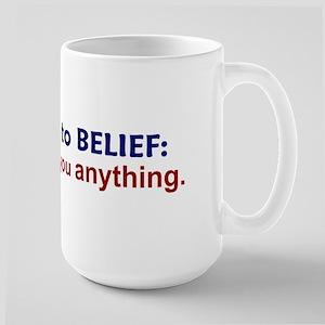 Nobody Owes You Anything Large Mug