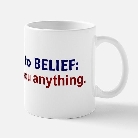 Nobody Owes You Anything Mug