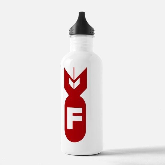 F Bomb Sports Water Bottle