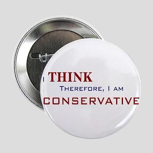 I'm Conservative Button