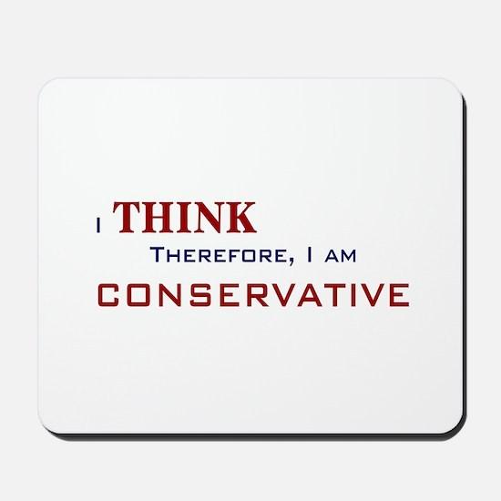 I'm Conservative Mousepad