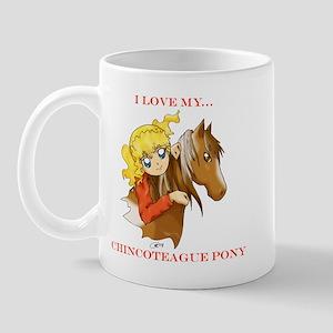 Chincoteague Pony Anime Mug
