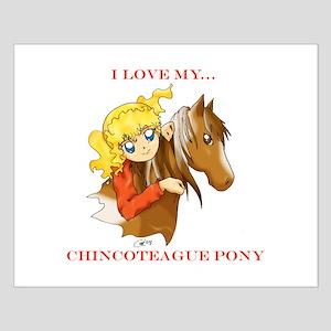 Chincoteague Pony Anime Small Poster