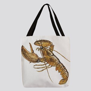 lobster Polyester Tote Bag