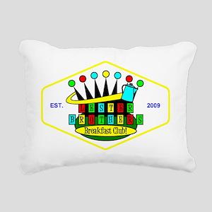 color LBBC patch revised Rectangular Canvas Pillow