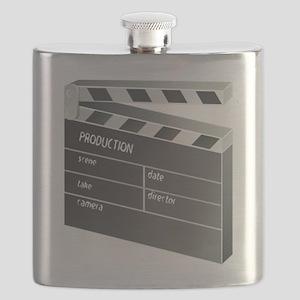 Movie Clapperboard Flask