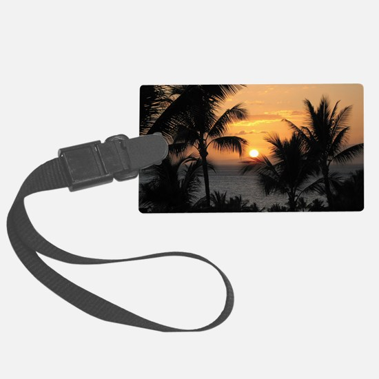 2-WaileaSunset_mug Luggage Tag