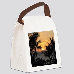 2-WaileaSunset_mug Canvas Lunch Bag
