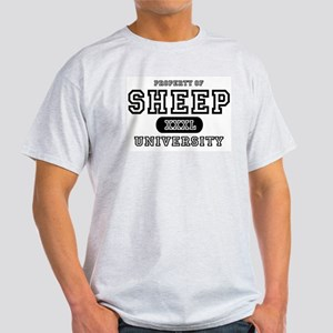 Sheep University Ash Grey T-Shirt