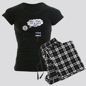 bad sign Women's Dark Pajamas
