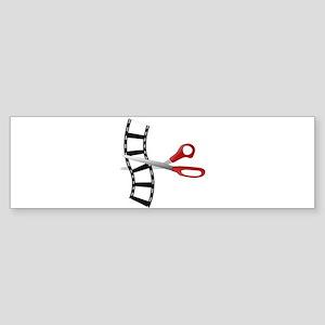 Filmstrip Edit Bumper Sticker
