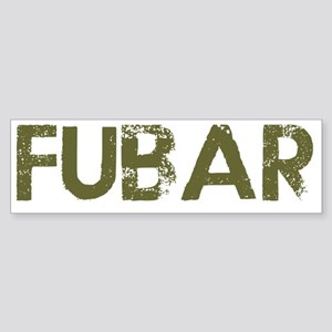 Fubar Sticker (Bumper)
