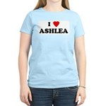 I Love ASHLEA Women's Pink T-Shirt