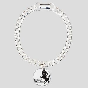 FFooball5 Charm Bracelet, One Charm