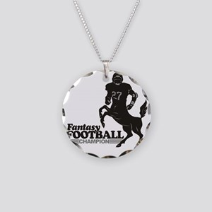 FFooball5 Necklace Circle Charm
