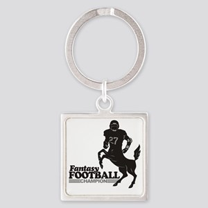 FFooball5 Square Keychain