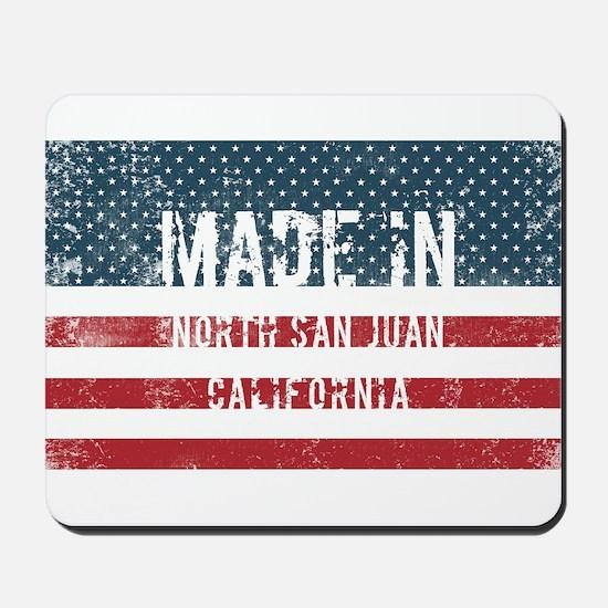 Made in North San Juan, California Mousepad