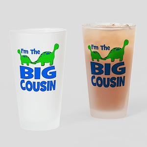 imtheBIGcousin_dino Drinking Glass
