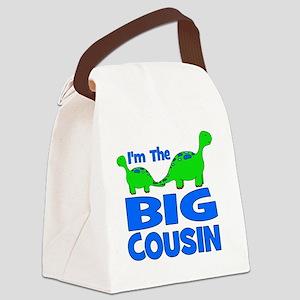 imtheBIGcousin_dino Canvas Lunch Bag