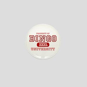 Bingo University Mini Button