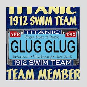 TitanicGlug10x10-5 Tile Coaster