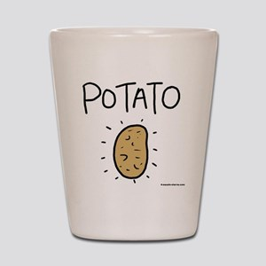 Kims Potato shirt Shot Glass