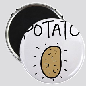 Kims Potato shirt Magnet