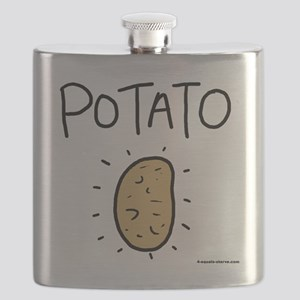 Kims Potato shirt Flask
