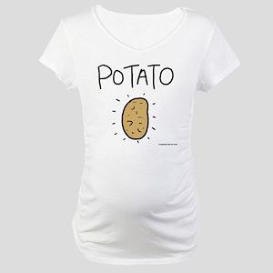 Kims Potato shirt Maternity T-Shirt