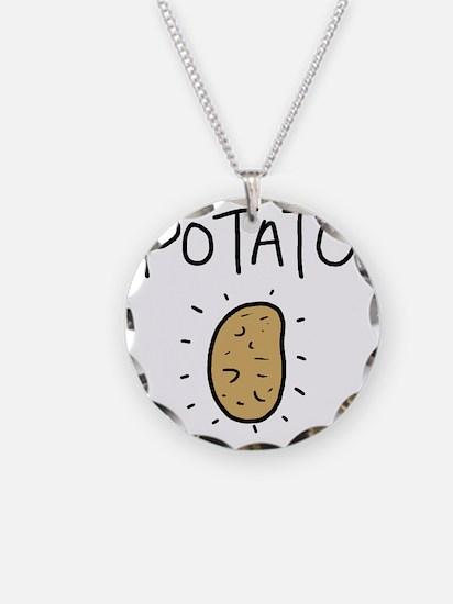 Kims Potato shirt Necklace