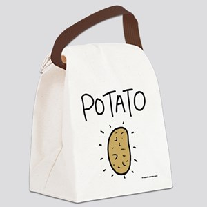 Kims Potato shirt Canvas Lunch Bag
