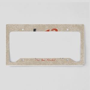 crisp-white-OV License Plate Holder