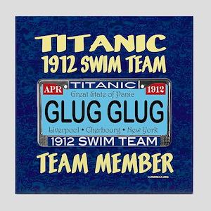 TitanicGlugMouse9.5x8 Tile Coaster