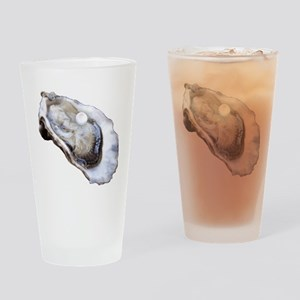 oyster with pearl Drinking Glass