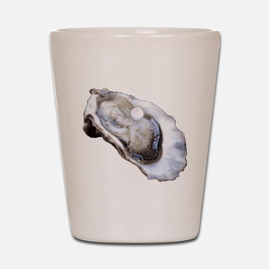 oyster with pearl Shot Glass